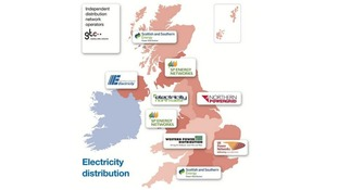 Electricity distribution operators in the UK