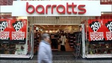 A Barratts shoe shop