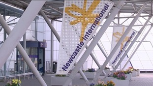 Flights diverted to Newcastle Airport