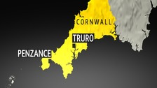 The Olympic Torch Route will pass through Cornwall