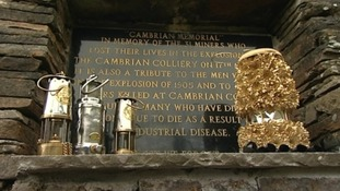 Plaque and tributes