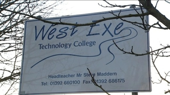 West Exe Technolody College sign