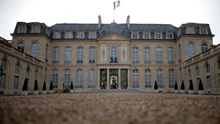 The Elysee Palace, the official residence of the French President.