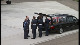 Repatriation of Corporal Brent John McCarthy