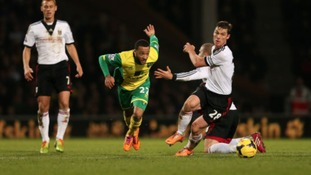 Norwich City were beaten 2-1 by Fulham.