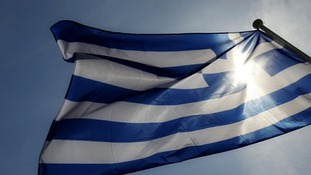 Greece sit perilously close to a euro exit