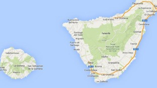 Three Britons have been injured at an explosion in a hotel on the island of Tenerife.