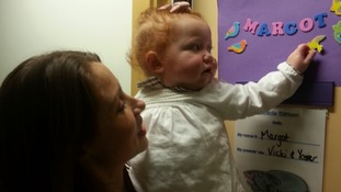 Margot Martini's leukaemia is so rare, doctors at GOSH have only seen it three times in a decade.