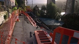 Calstock landslip will be fixed by end of May