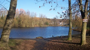 Kirk Hallam Lake in Ilkeston