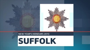 New Year Honours for people in Suffolk