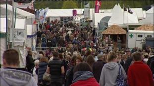 crowds at Devon County Show