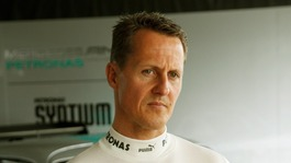 Michael Schumacher being brought out of coma