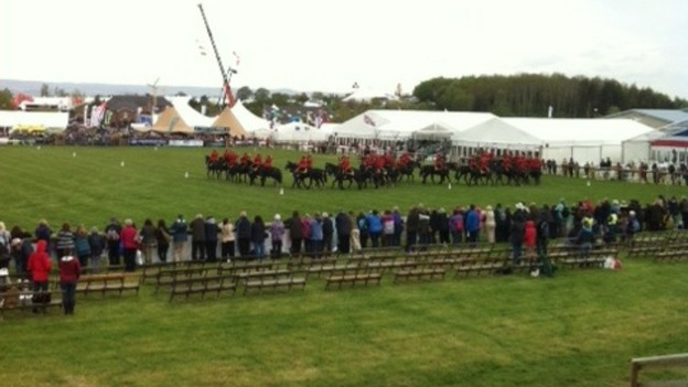 Mounties at Devon County Show