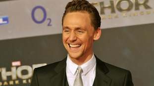 Tom Hiddleston attends to the Premiere of the film Thor - The Dark Kingdom.