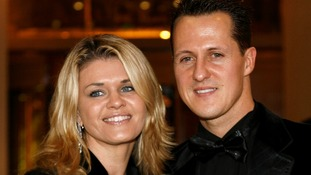 Michael Schumacher with his wife Corinna at the 2006 FIA Awards in Monaco