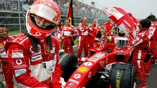 Michael Schumacher prepares for the Canadian Grand Prix after a five-year winning streak