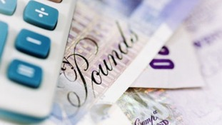 UK pounds and a calculator