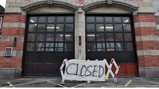 fire station closed