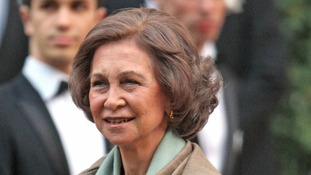 Queen Sofia of Spain has declined her invitation to attend Friday's celebratory Jubilee lunch.