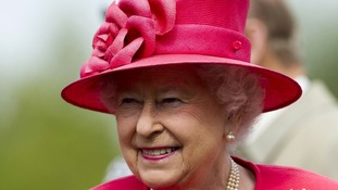 The Queen continued her Diamond Jubilee tour in the north-west today.