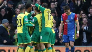 Gary Hooper is congratulated by his teammates after scoring the winner against Crystal Palace in November.