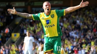 Anthony Pilkington, seen here celebrating scoring against Chelsea, could return within the next couple of weeks.
