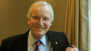 TV and radio personality Nicholas Parsons.