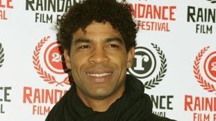 Ballet dancer Carlos Acosta.