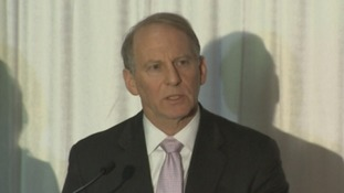 Former US diplomat Dr Richard Haass speaking this morning.
