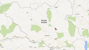 Bor lies 190 km (120 miles) to the north of the South Sudanese capital Juba