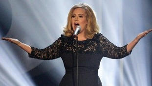 Adele took two awards home from the night.