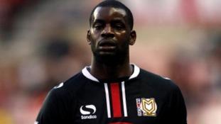 Izale McLeod failed to impress at Northampton Town.
