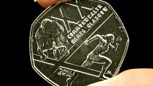 A new 50p coin featuring a Commonwealth Games design.