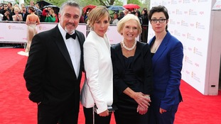 (L - R) Paul Hollywood, Mel Giedroyc, Mary Berry and Sue Perkins