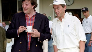 Stephen Fry (left) and Hugh Laurie