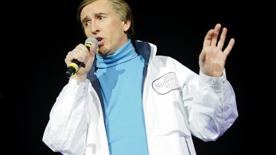Steve Coogan in character as Alan Partridge