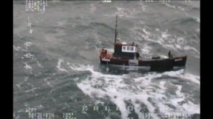 Search continues for missing fishing boat off Dorset coast