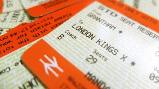 A commuter's ticket to London Kings Cross from Grantham.