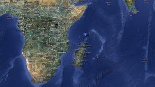 Costa Concordia left adrift off coast of Madagascar