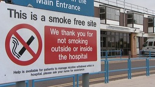 A similar smoking ban was largely ignored at the James Paget Hospital in Norfolk.