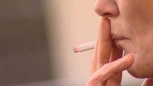 Smoking has been banned at Addenbrooke's Hospital.