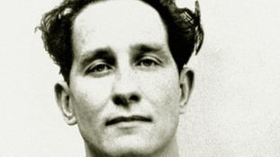 Ronnie Biggs, 35, jailed for 30 years for his part in the Great Train Robbery.