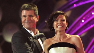Dannii Minogue and Simon Cowell