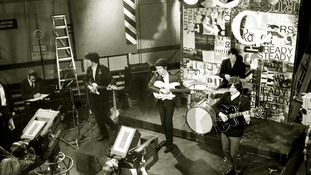 The Kinks performing in 1965.