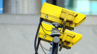 Speed cameras in the City of London