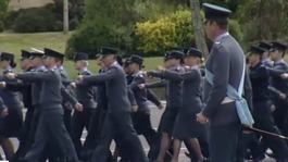 RAF marches in Buckinghamshire