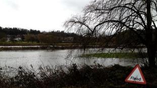 Flooding in Godalming