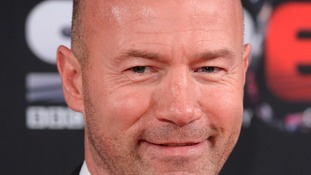 Alan Shearer sent his congratulations to Run Geordie Run.