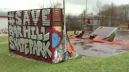 Skate park demolished